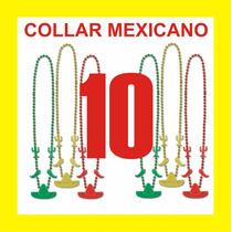 10 Collares Mexicanos Fiesta Boda Dj Xv Vaquero Mexicana