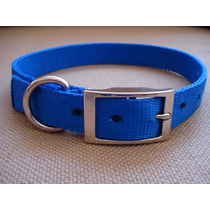 Collar De Nylon C/ Hebilla Metalica - Grande - Xolo Straps