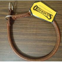 Collar De Castigo Fabricado En Piel Redondo - Silverado