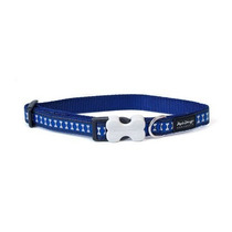Collar Collar Red Dingo Perro Reflexivo De La Seguridad, Me