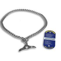 Collar Aleman De Castigo Hs Con Mariposa De 60 Cms X 2.5