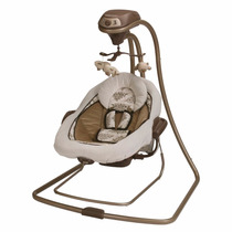 Columpio Mecedora Bouncer Bebe Graco Duetconnect Lx, Farrow
