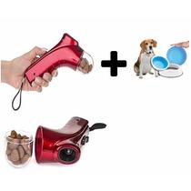 Kit Mascotas Perros Launcher Dispensador + Frosty Bowl Plato