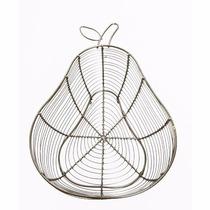 Frutero De Metal Con Diseño Forma De Pera Namaro Design