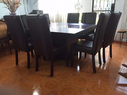 Comedor 8 sillas urge 13 en mercadolibre for Tipos de sillas para comedor