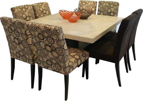 Decoracion mueble sofa mesa marmol - Mesas de marmol de comedor ...
