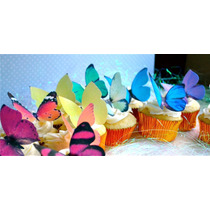 15 Hermosas Mariposas Comestibles Para Bodas Pastel