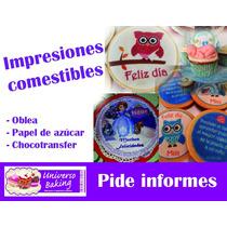 Impresión Comestible Papel De Azúcar