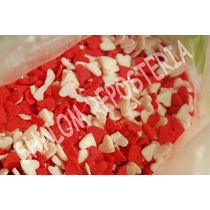 *confeti Comestible San Valentin Corazon ,chocolate Fondant*