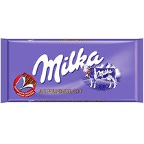 5 Piezas Chocolate Milka Tradicional De Leche 100 Gr.