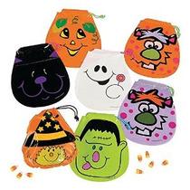 Cordón De Halloween Goody Bolsas: Paquete De 72