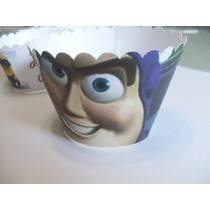 12 Capacillos Cupcakes Personalizados Y Con Oblea Comestible