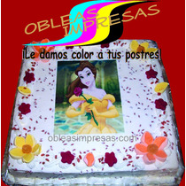 Obleas Pasteles, Transfer Gelatinas, Cupcakes, Postres