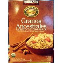 Granola Organica 1 Kg Jorasan Kamut Escanda Quinoa Amaranto