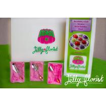 Kit Completo Gelatina Artística Con Recetario Jelly Florist