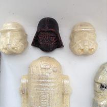 Chocolates De Star Wars Deliciosos Para Fiestas O Recuerdos