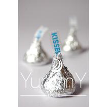 Kiss Chocolates Lujo Artesanal Souvenirs Dulces Boda Xv Baby