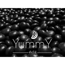 Luneta Negro Souvenir Xv Años Fiestas Mesa De Dulces Yummy