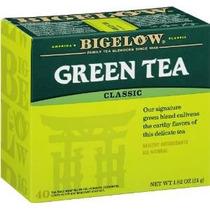 Bigelow Té Verde, Cajas 40-count (paquete De 6)