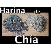 Harina De Chía Artesanal 1 Kg Fresca Seed Sustituto Huevo