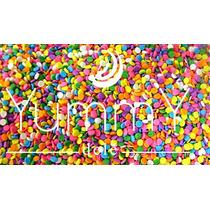Confeti Comestible Fiestas Candy Bar Dulces 10 De Mayo
