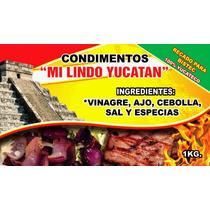Condimento 100% Yucateco Recado Blanco (bistec) 1kg