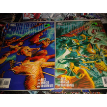 Dc Justice #1 Alex Ross Comic En Ingles 2 Portadas