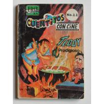 1966 Teddy El Prodigioso Cuentitos Con Cine #22 Edar Comic