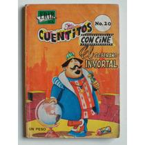 1966 El Soberano Inmortal Cuentitos Con Cine #20 Edar Comic