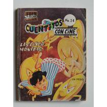 1966 Las Cinco Monedas Cuentitos Con Cine #24 Edar Comic