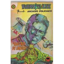 Comics Antiguos Fuera De La Ley Num 78 Policiaco Bbf