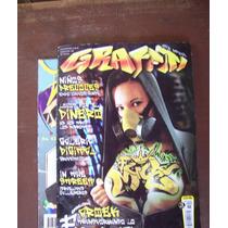 Graffiti-tatuajes-lote 20 Revistas-color-esp-ingl-reseña-hm4