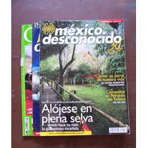 México Desconocido-lote De19 Revistas-se Reseñan-hm4
