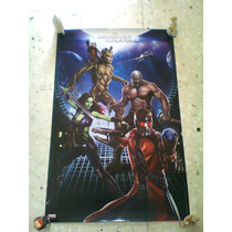 Guardianes De La Galaxia Poster No Batman,avengers,superman