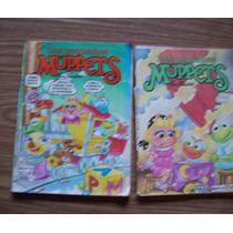 Los Pequeños Muppets-comics-lote 2 Ejemp-num.27y33-edit-vid