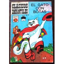 Historeta Clasicos Infantiles,el Gato Con Botas N°8