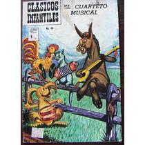 Historieta Clasicos Infantiles,el Cuarteto Musical N°49