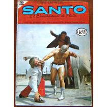 Historieta,santo El Enmascarado De Plata N°2,editorial Icavi