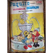 Historieta, Paquito Presenta La Familia Burron, N°17222