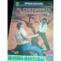Comic Grandes Aventuras Emilio Salgari Antiguo Vv4