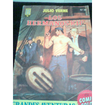 Comic Grandes Aventuras Julio Verne Antiguo 1987 España Vv4