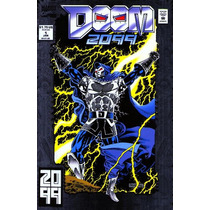 Marvel Comics Doom 2099 1993 Portada Foil En Ingles