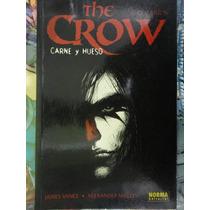 The Crow Carne Y Hueso Editorial Norma