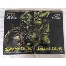 Swamp Thing Saga Alan Moore Libro 1 Y Libro 2 Editorial Tele