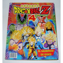 Dragon Ball Z 4 El Sacrificio De Goku Album De Estampas