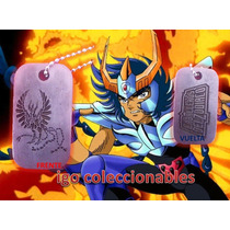 Dije Fenix Tag Caballeros Del Zodiaco Mercado Envios Igo!