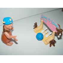 Figura De Coleccion Pedro Picapiedra Boliche Mattel
