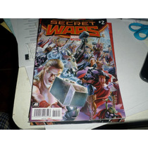 Secret Wars # 2 Variante Marvel Mexico