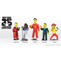 Neca Simpsons 25 Aniversario Serie 01 Set De 6 Figuras
