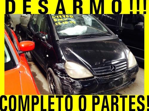 Completo O Partes! Mercedes Clase A 160 2000 Partes Audi Bmw